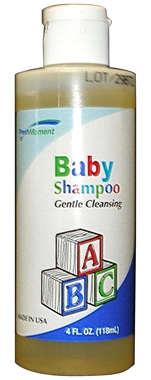 McKesson HDX-I2600 Fresh Moment Baby Shampoo, 4 oz. Floral Bottle