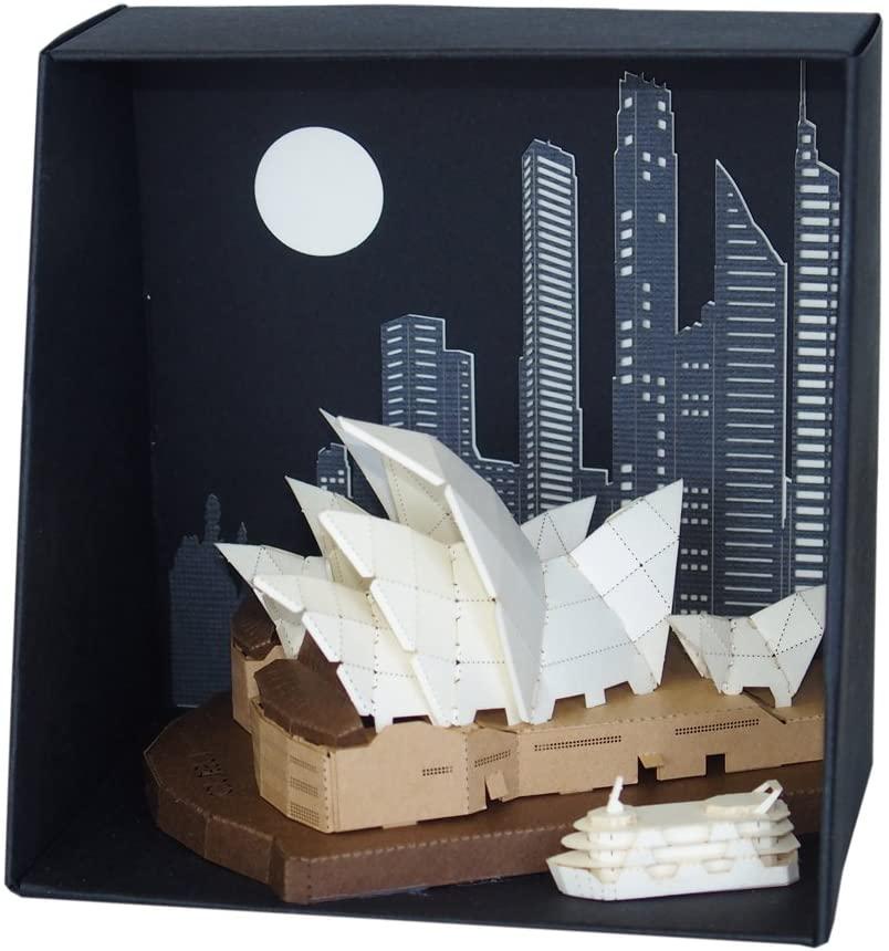 Paper Nano Sydney Opera House Building Kit