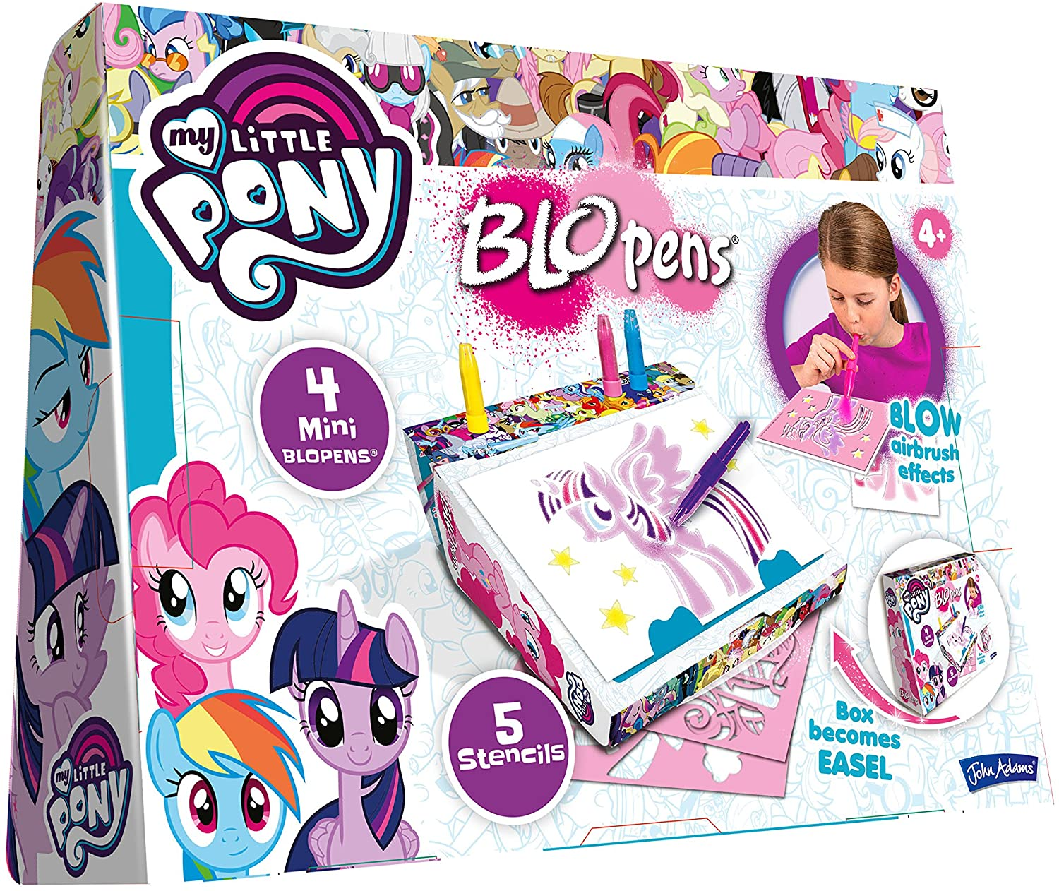 My Little Pony BLOPENS Creative Case from John Adams
