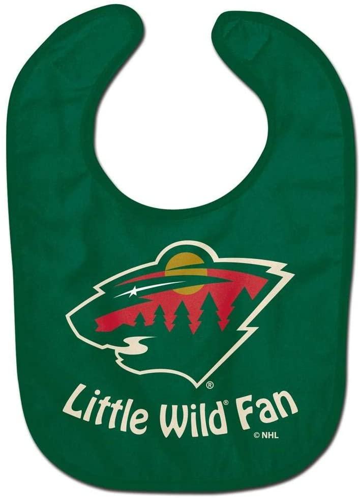 Wincraft NHL Minnesota Wild WCRA2062014 All Pro Baby Bib