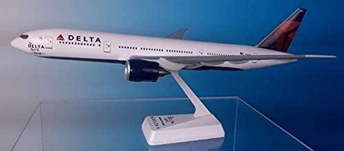 Flight Miniatures Delta Airlines (07-CUR) Boeing 777-200LR 1:200 Scale REG#N701DN Spirit of Delta Livery