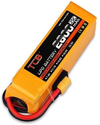 22.2V/6S 2600mAh 25C LiPO Battery XT60-PLUG
