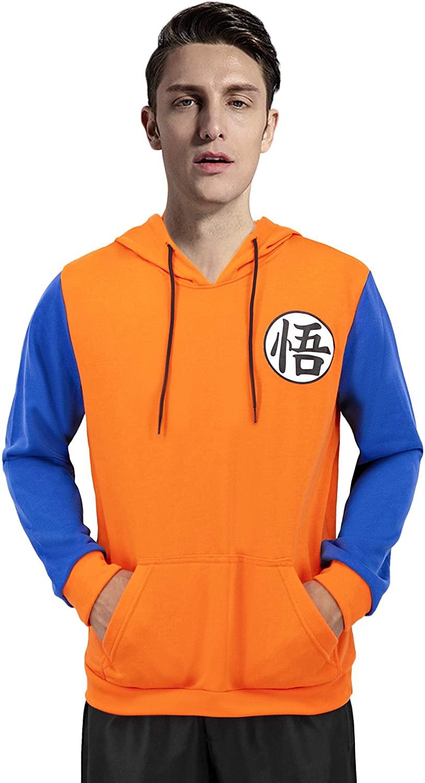 Cosplay Costume Hoodies for Goku Anime Character