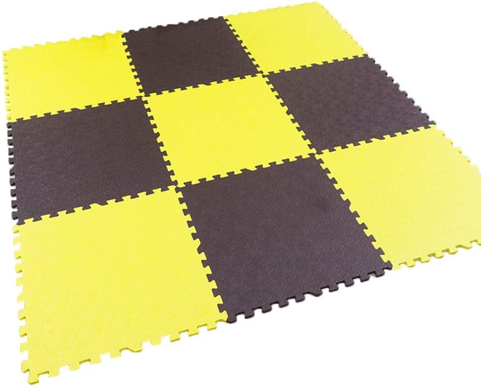 WYZBD Children Baby Crawling pad Thick Tatami mats Bedroom Living Room Stitching Climb pad,F,180180CM
