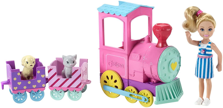 Barbie Club Chelsea Doll and Choo-Choo Train
