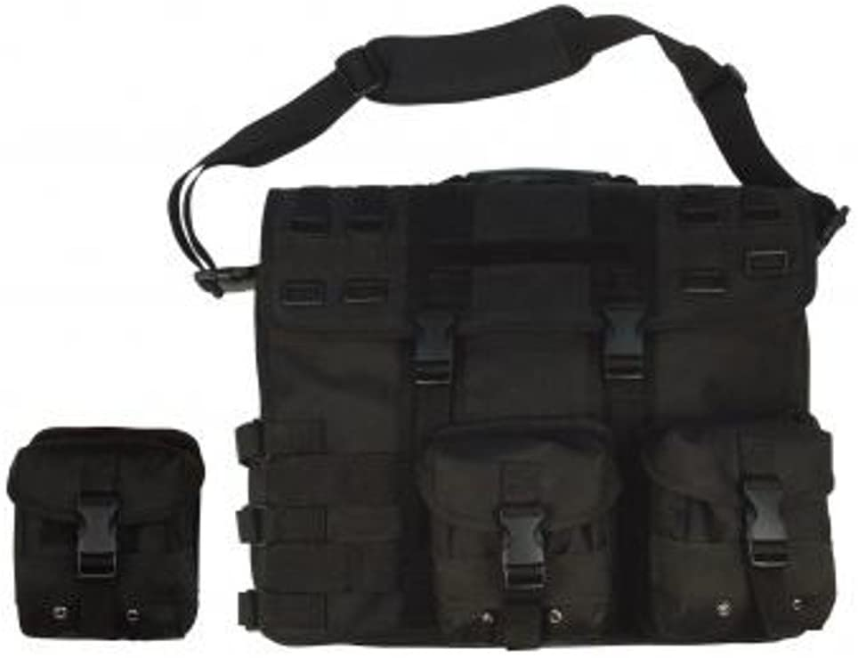 3131 MOLLE Tactical Computer Briefcase Black by Molle