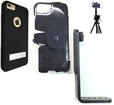 SlipGrip Tripod Mount for Apple iPhone 8 Plus Using Hummer Kickboxer Case