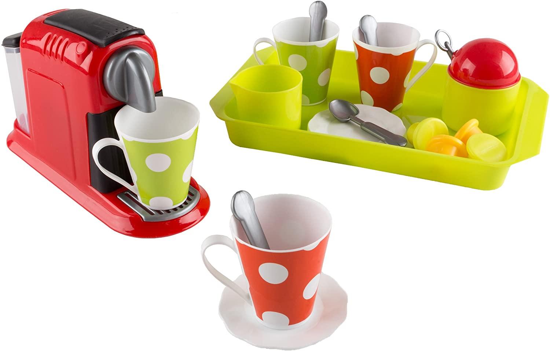 Pretend Play Coffee Maker Playset - 21 Piece Set!