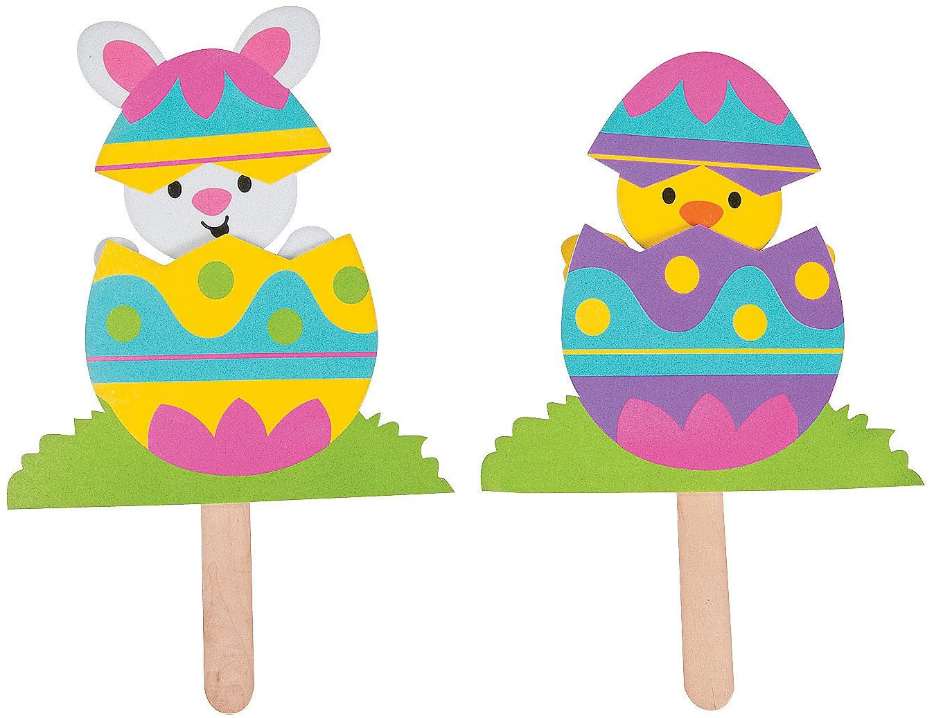 Pop Up Easter Character Craft Kit - 12 - Crafts for Kids and Fun Home Activities