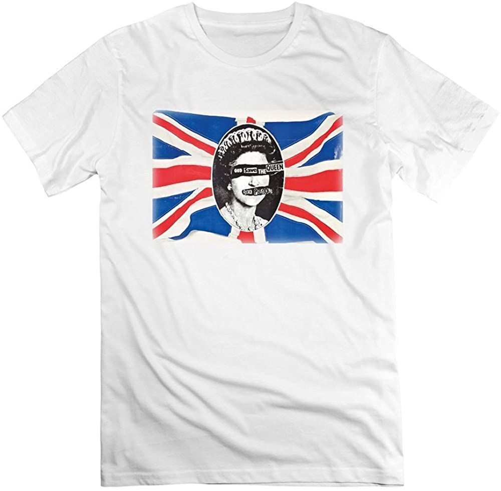 Walkley Kelly Wyky Mens Sex Pistols God Save The Queen No Feelings Short Slev Tee Tshirt