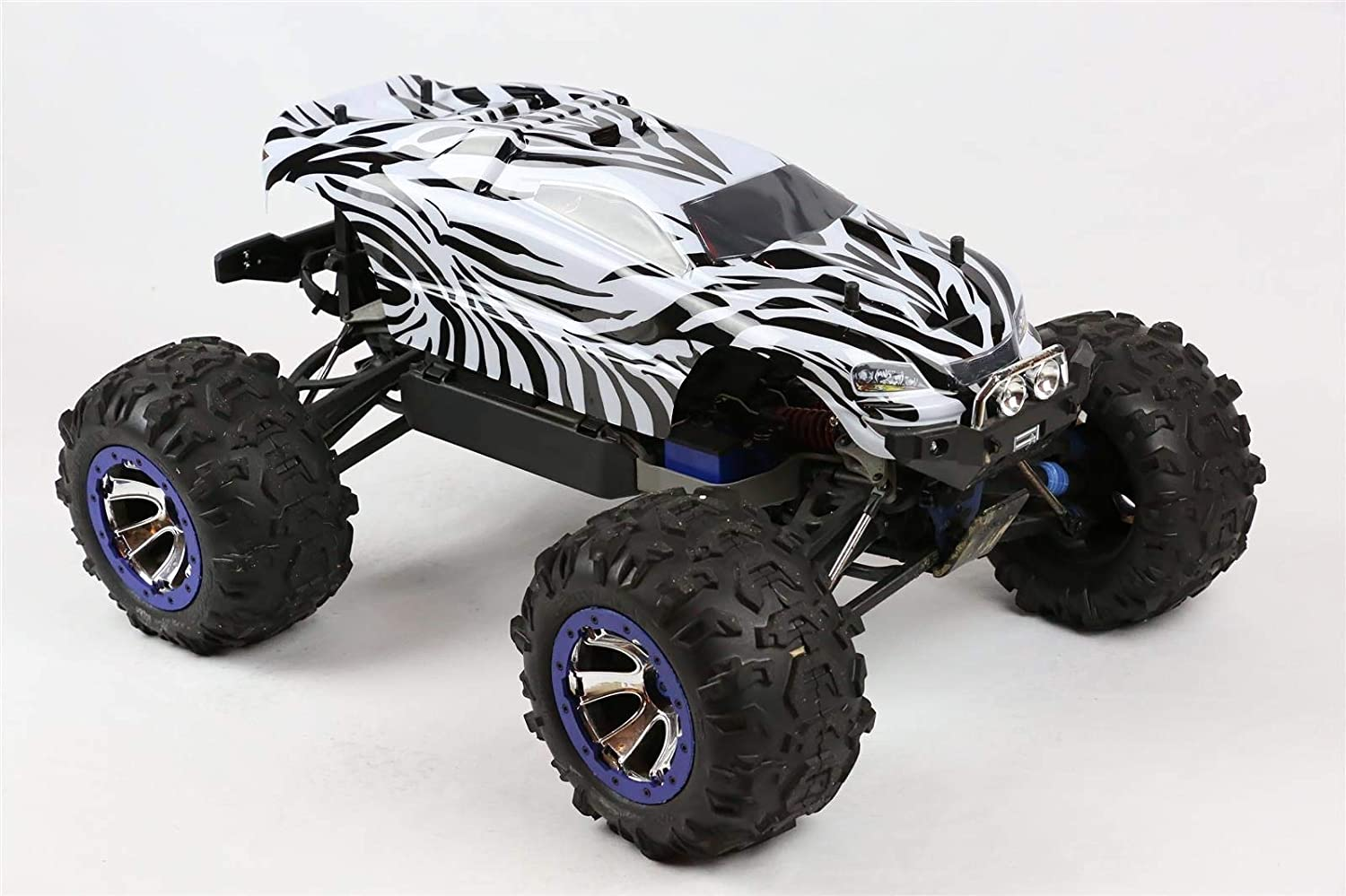 SummitLink Compatible Custom Body Zebra Style Replacement for 1/10 Scale RC Car or Truck (Truck not Included) SUE-Z-02