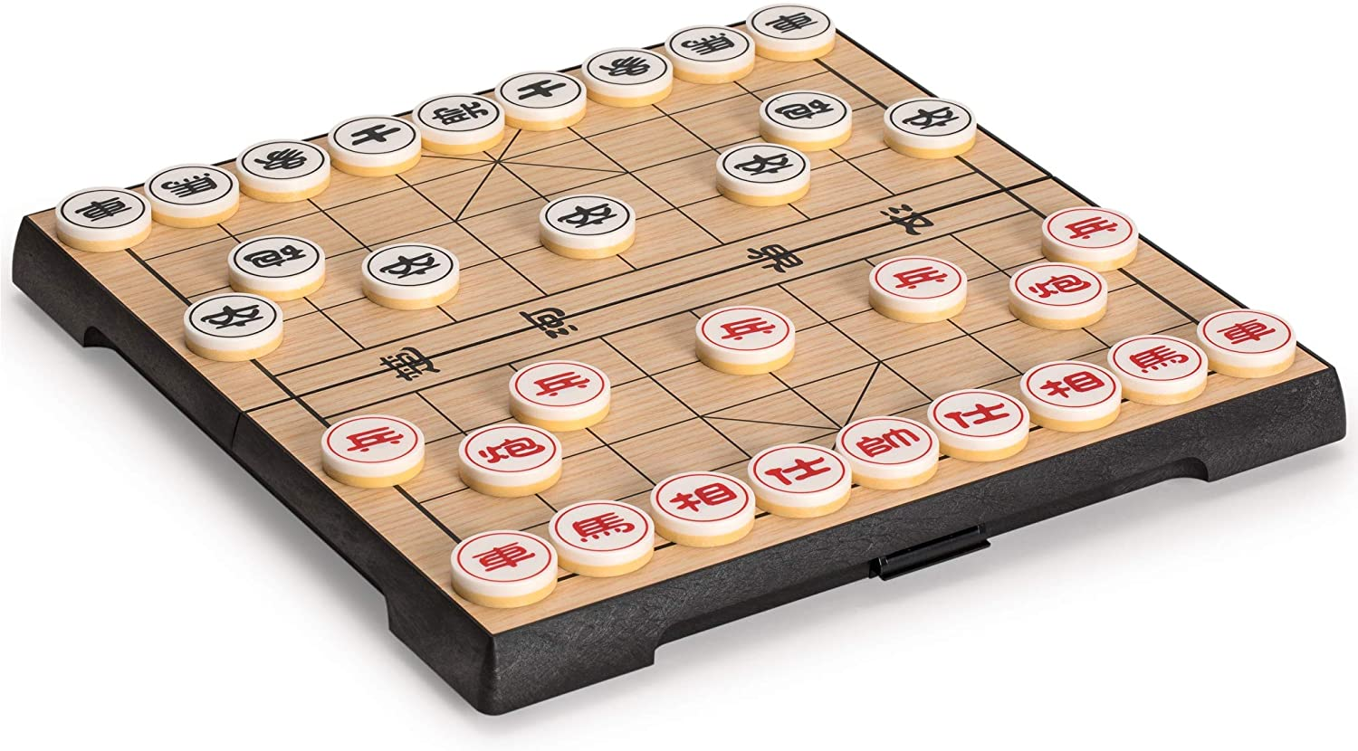 Yellow Mountain Imports Chinese Chess (Xiangqi) Magnetic Travel Set (9.5 Inches)