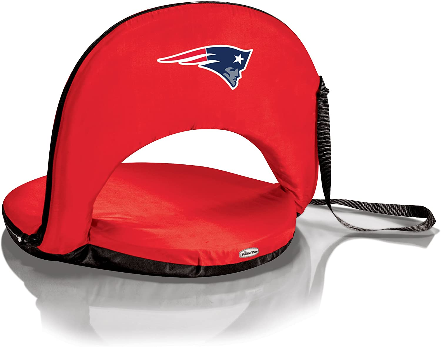 NFL New England Patriots Oniva Portable Reclining Seat, Red