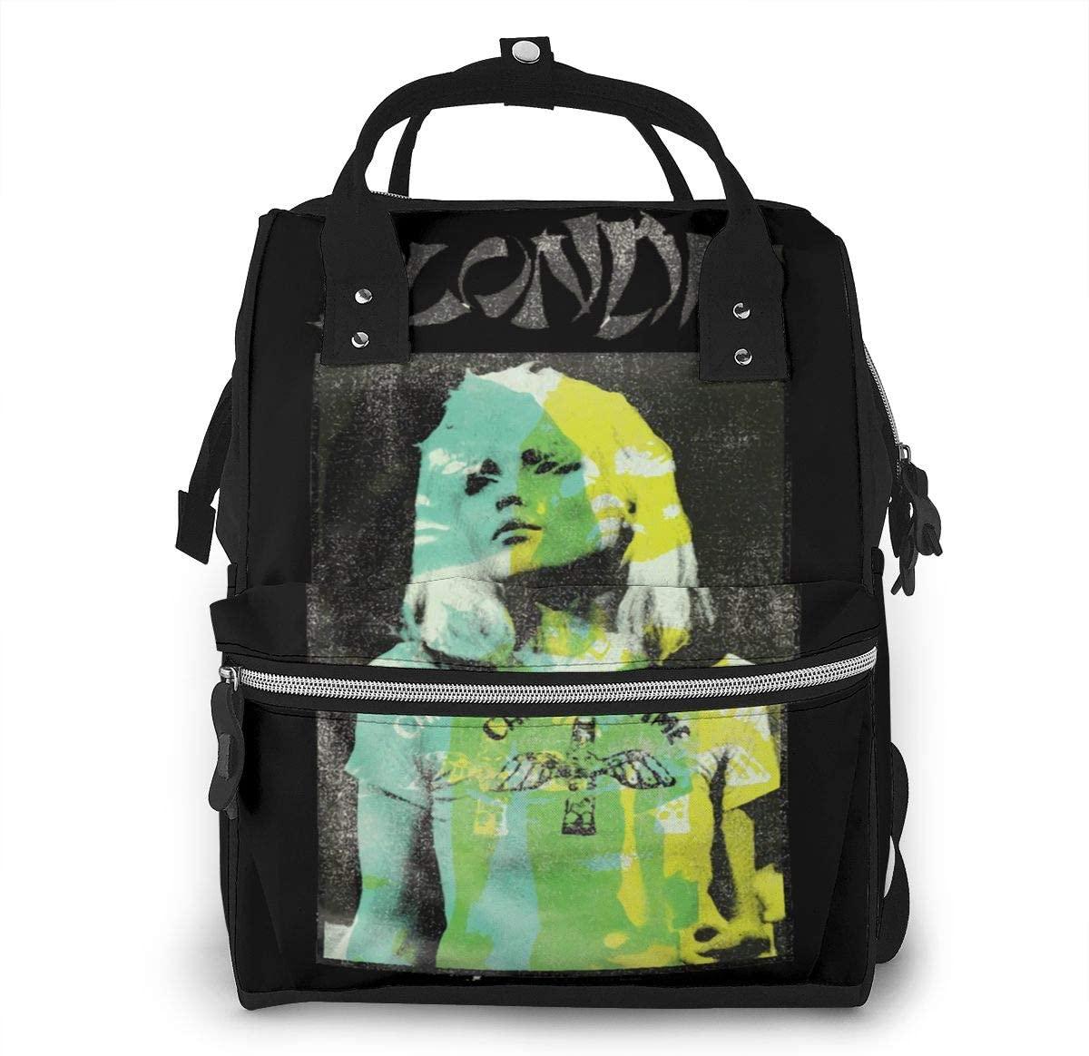 Sherrygeoffrey Blondie Bonzai Diaper Backpack Large Capacity Travel Bag