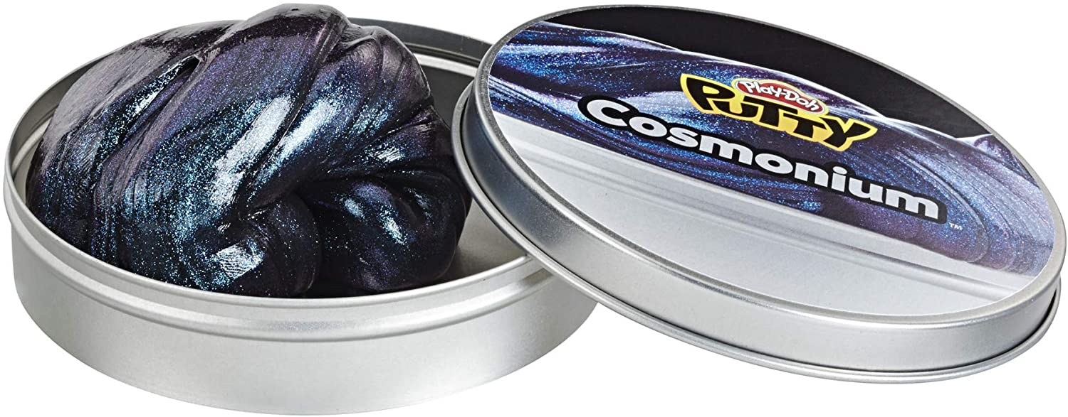 Play-Doh Putty Cosmonium Galaxy Putty for Kids 3 Years & Up, 3.2 oz Tin