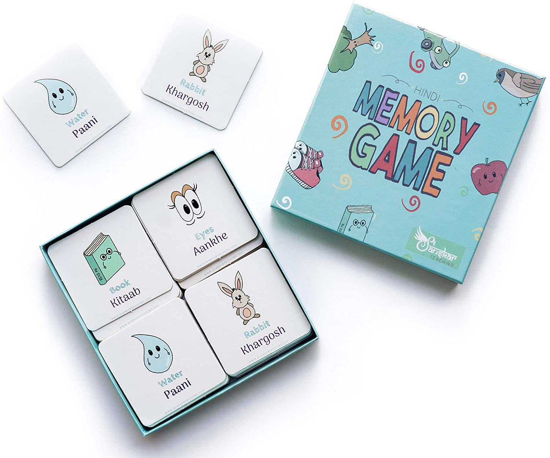 Hindi Memory Game, Best Way to Learn Hindi, Hindi Words for Kids
