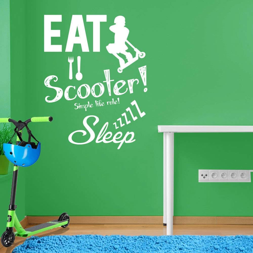 Stunt Scooter Wall Decal
