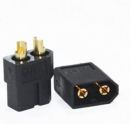 Parts & Accessories 1 Pair Xt60 Connector Male And Female Plug For Rc Battery And Motor - (Color: Black)