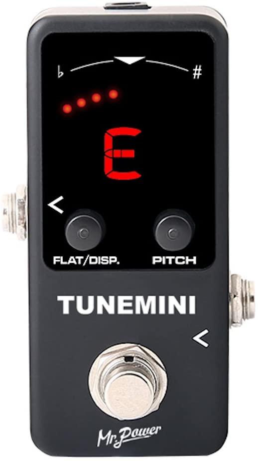 Mr.Power Guitar Bass Tuner Pedal Mini Size Chromatic