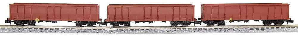 Evemodel C15013WR 3pcs N Scale 40ft High-Side Gondola Car 1:160 Railway Open Wagons Rolling Stock Container Carriage Freight Car