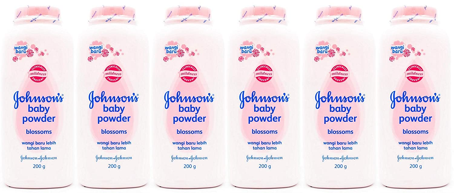 Johnson's Baby Powder Blossoms 200 Gr / 7 Oz (Pack of 6)