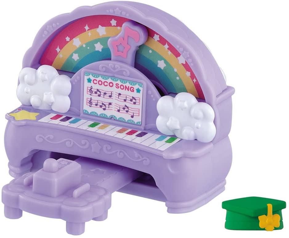 Glitter Happy Hirake! Kokotama Rainbow of Piano and Blackboard Set