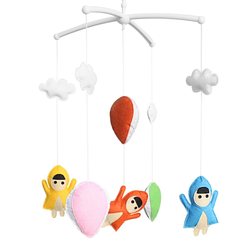 Bed Bell Baby Crib Mobile Lullaby Musical Mobile Baby Bed Educational Toys Newborn Nursery Decor Baby Toy-D20