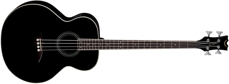 Dean Acoustic-Electric Bass, Classic Black