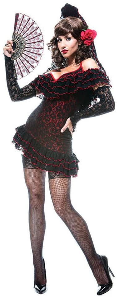 Halloween FX Lady of Spain French Kiss (Large)