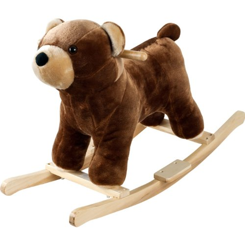 Happy Trails Plush Rocking Barry Bear with Sounds