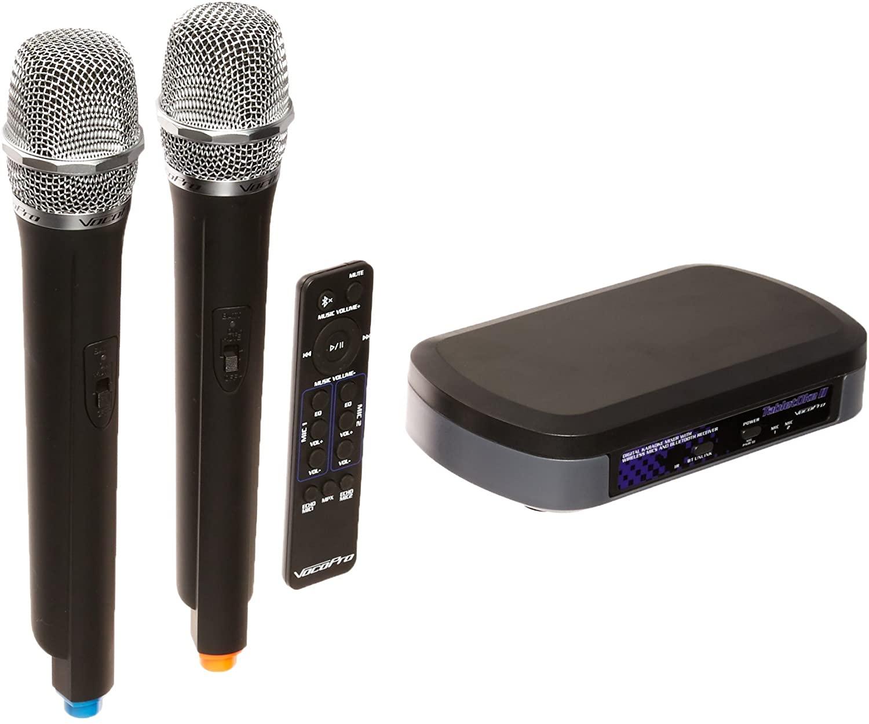 VocoPro Digital Karaoke Mixer with Wireless Mics and Bluetooth Receiver (TabletOke-II)
