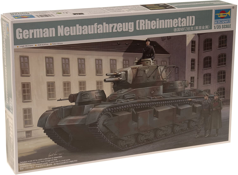 Trumpeter 1/35 German NBFZ Nr.1 Rheinmetall Heavy Tank Model Kit