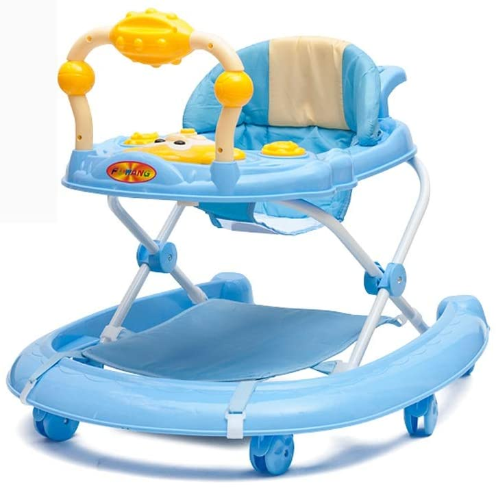 3 in 1 Baby Walker,Ride On 1-2-3, First Steps,6 Months to 15 kg, Includes Wheels Light Music Removable Play Centre and Seat Height Adjustable