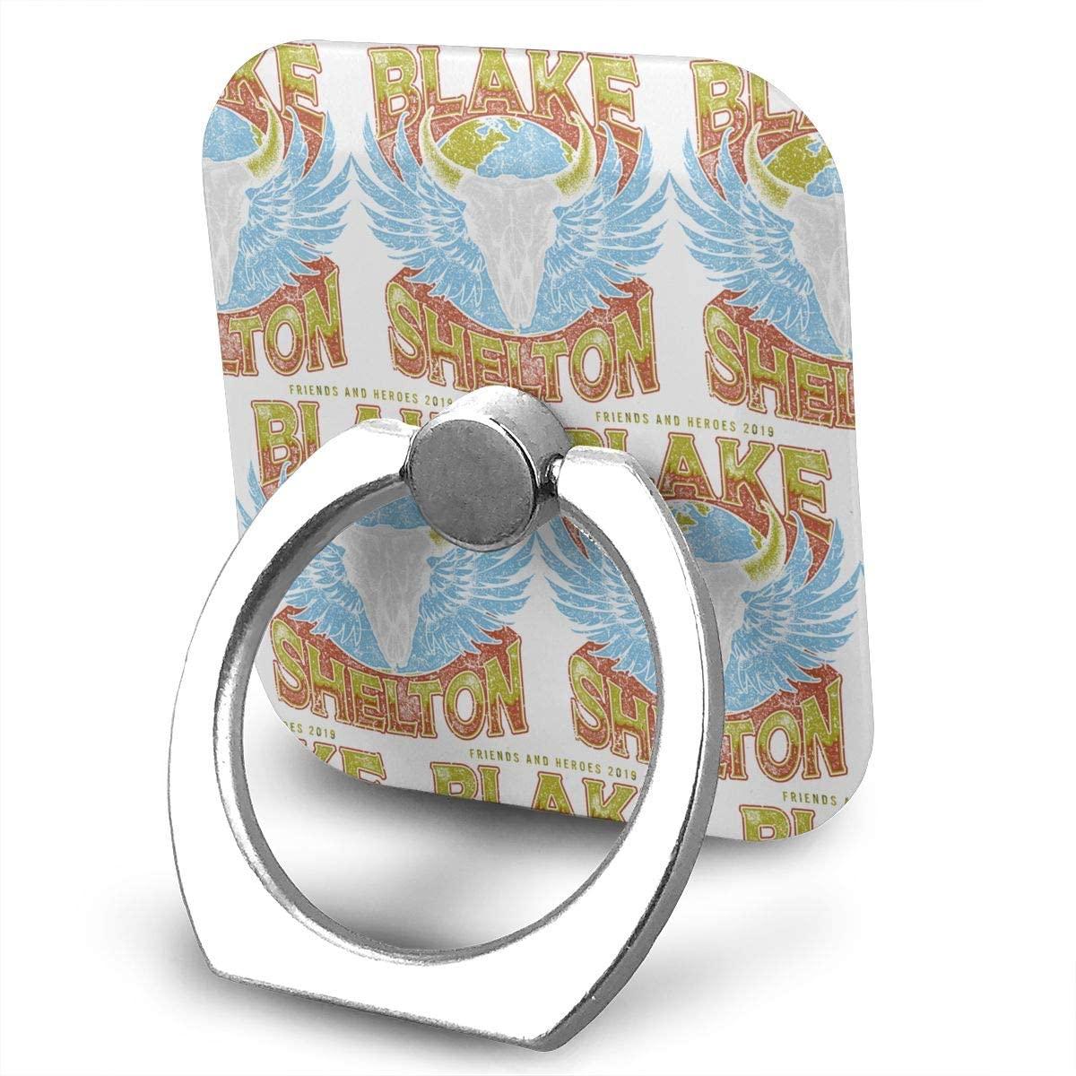 Blake Shelton Phone Finger Ring Stand Bracket Holder Smartphone Grip Stand Holder 360 Degree Rotating Sticky Cute