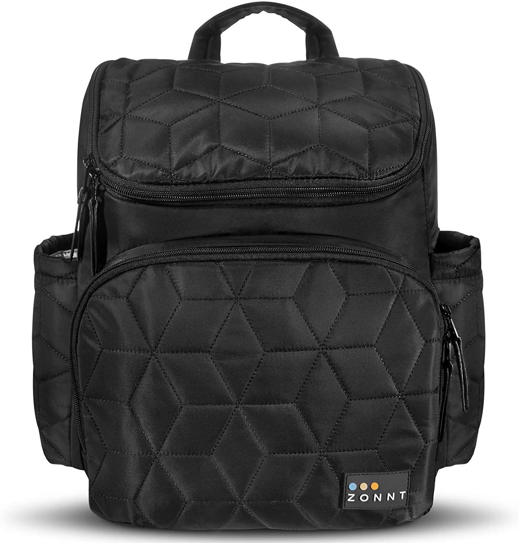 Diaper Bag Backpack - Baby Diaper Bag - Large Diaper Bags for Dad - Mom - Boy - Girl - Black