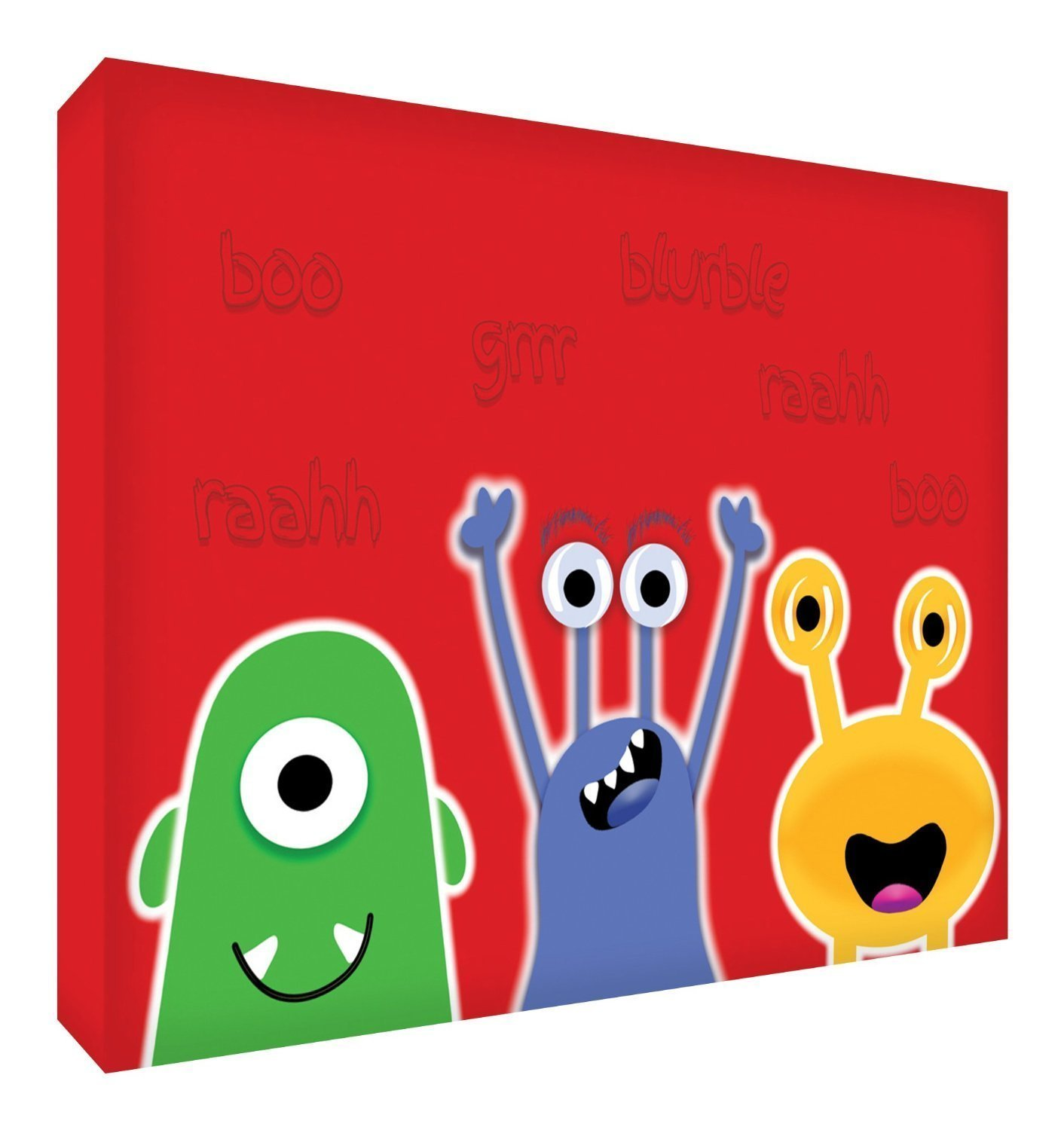 Feel Good Art monsters128 – 09ES – Canvas Thick Solid Faced, Design