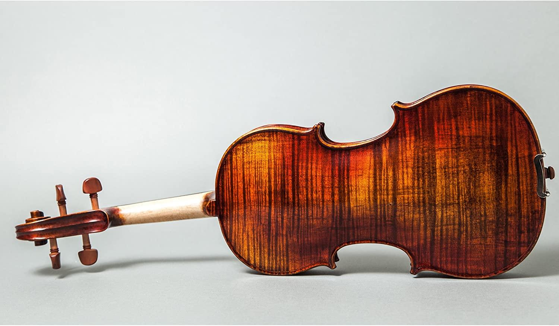 Professional Hand Made Violins 4/4 Full Size Beautiful Flamed Back Limited Quantity (FL002-JB-FG999)
