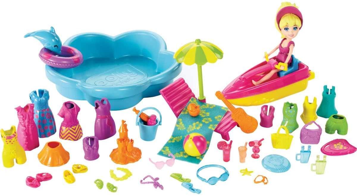 Polly Pocket Beach Blowout Playset