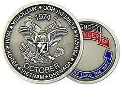 HMC US Army Ranger 2nd Ranger Battalion Challenge Coin