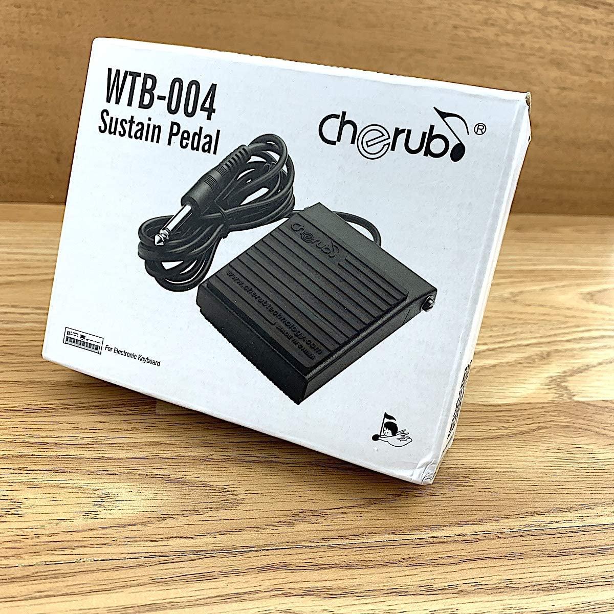 Cherub Digital Keyboard Sustain Pedal WTB-004