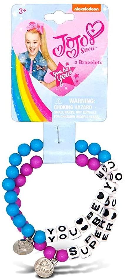JoJo Siwa Best Friends Forever Charm Bracelet Set (Super Cute)