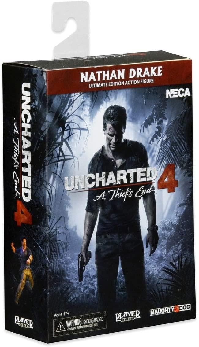 NECA Uncharted 4 Ultimate Nathan Drake Action Figure (7