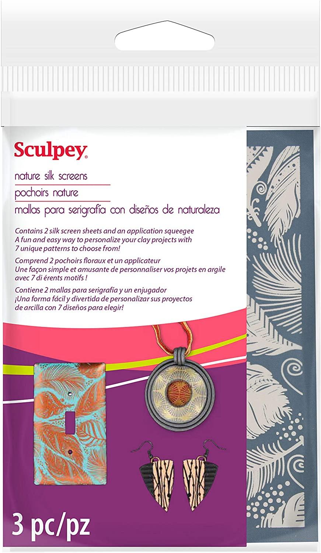 Sculpey Silkscreen Kit-Nature