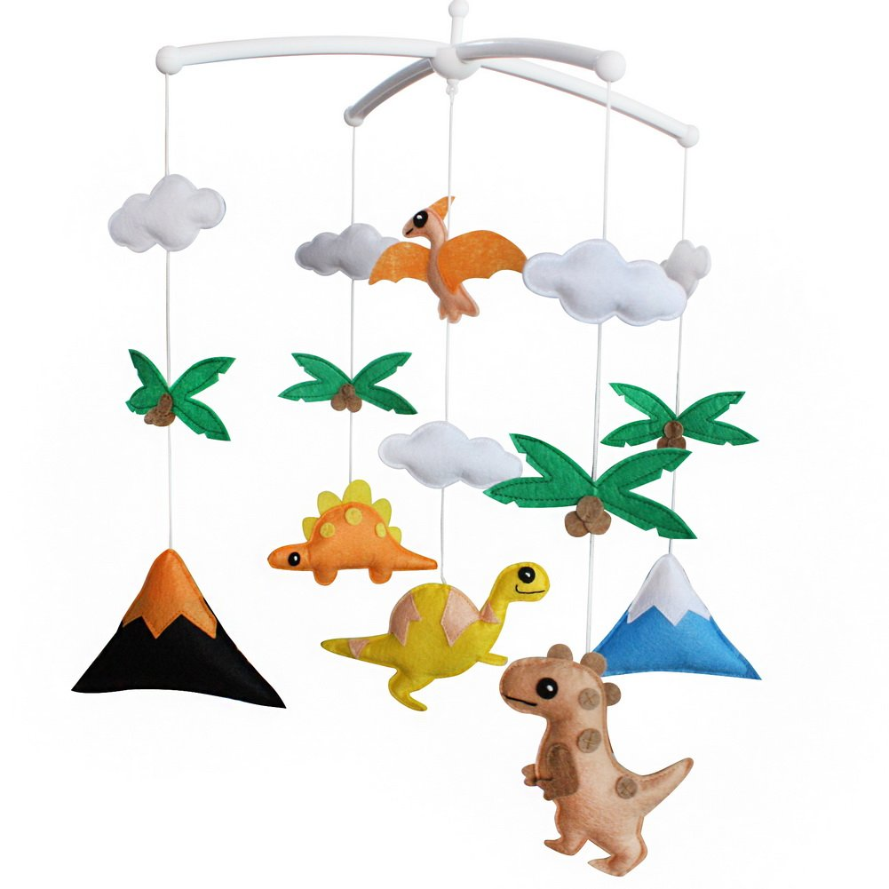 Handmade Baby Crib Mobile Toy Gift Nursery Decoration for 0-2 Years, MQ37