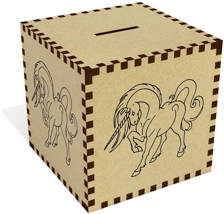Azeeda Large 'Unicorn' Money Box / Piggy Bank (MB00015305)