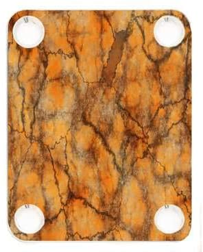 Custom Graphical Guitar Neck Plate Neckplate Texture 4