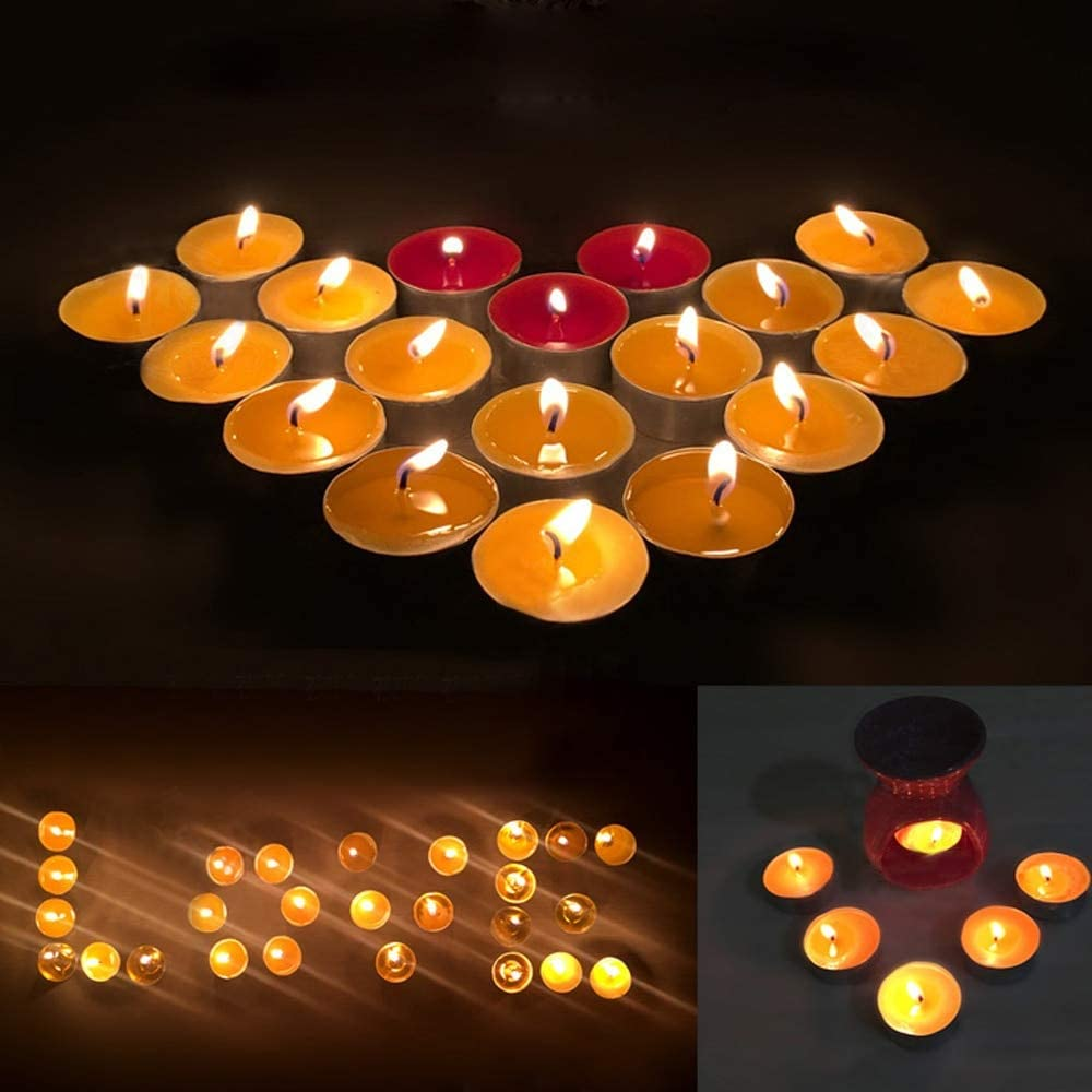 LELEXI 12 PCS Empty Tealight Candle Cases Containers Molds Tins Jars Making Supplies for DIY Candle Making
