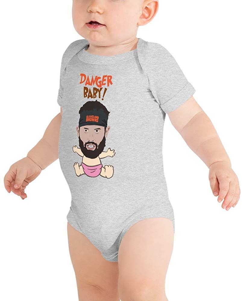 Baby Baker Mayfield Browns Bodysuit