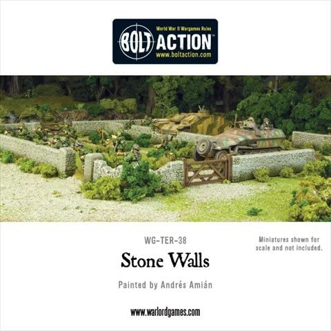 Stone Walls Box Set By Warlord Games
