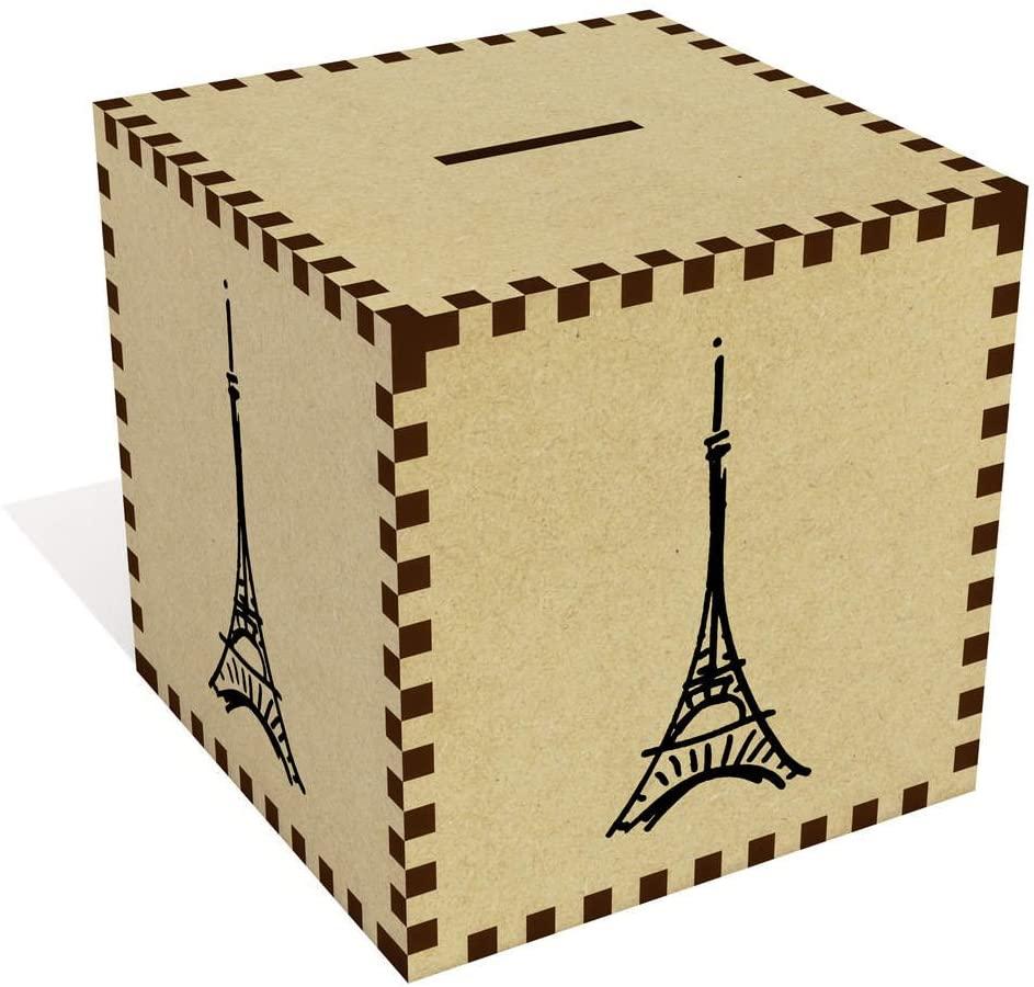 Azeeda Large 'Eiffel Tower' Money Box / Piggy Bank (MB00069832)